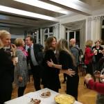 Il sindaco Borradori e il pubblico