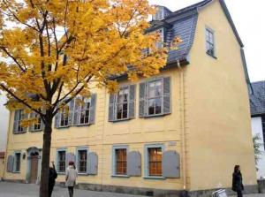 Weimar casa di Schiller