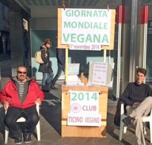 Giornata mondiale vegana 2014 CLUB TICINO VEGANO