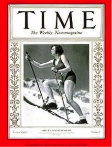 Leni Riefenstahl in copertina sul TIME